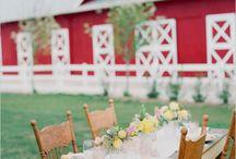Barn wedding / by TwoLittleOwls inLove