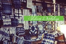 Shibori / Celebrating the beautiful designs that can be created with the art of Shibori / by Measure Twice Cut Once