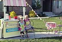 FOR THE GIRLS - Lemonade Stands / by Little Housewife