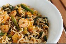 Tofu Noodle Recipes / by Lynn Bryson