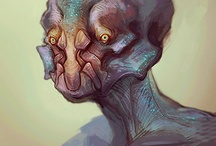Creature design  / by Tom Wholley