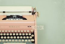 Typewriter Love / by Bonita Rose Kempenich