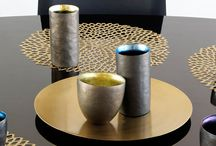 """COLOR COLLECTION   PRECIOUS METALS / """"There are countless ways to interpret metallics and we have always been committed to creating colors that are sophisticated – not flashy and not too bright. The result is colorations that can be dressed up or down depending on the occasion."""" - Sandy Chilewich / by Chilewich Sultan LLC"""