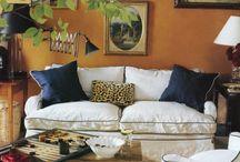 Interiors, Living Spaces / by Debbie Battaglia