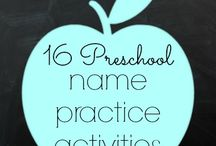 Name writing / by Laura Ahlbach