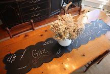 Thanksgiving ideas / by Tonya Ryals