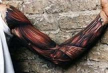 tattoos and graffiti / by Jason Wood