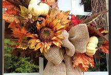 Fall Decor Ideas / by Shelby Ball