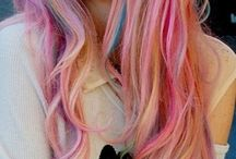 Cool hair colors / Beautiful hair in every color of the rainbow! / by Paige Northrop