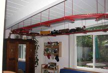 trains / Trains near ceilings / by Betsy Olson