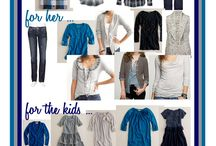 Family Photo Clothing in Blues and Naturals / Family Photo Clothing in Blues and Naturals / by Jacinda Buchanan