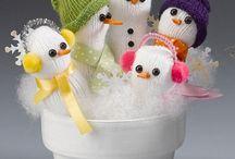 Snowman Crafts / by CraftsnCoffee