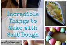 Salt Dough Inspirations / A collection of things you can make with salt dough. / by Diane Hoffmaster