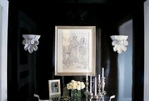 Dominantly Black...or Decorating with Black.... / by Azure Elizabeth