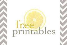 Printables / by Nashvegasmama