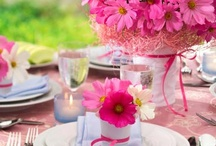 Party Table setting ideas / By dressing up your table, the whole party decorating will come together! / by BABY SHOWER STATION.com