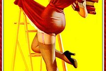 Pin-Ups / by Honey's Place