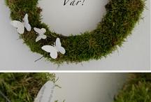 wreath for mom / by Jennifer
