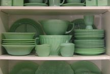 VINTAGE DISHES & MORE / by PAT THWEATT