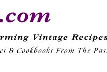 vintage recipes / by Sherry Turcotte