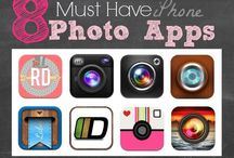 iphone apps and tips / by Connie Fitter