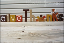 Thankful For Fall / Thanksgiving / by Cathy Butler