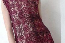 vestidos tejidos al crochet / by clara martinez