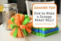 #grabsummerfun / Fun things to do in the summertime!  Wahoo! :) / by Ginger @ GingerSnapCrafts.com