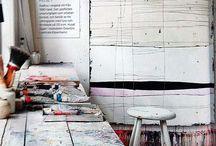work space / by Lotte-Marijn Millar