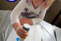 preschool letter b / by Katie