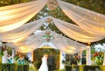 WEDDINGS AND EVENTS IDEAS / by Maria Jimenez