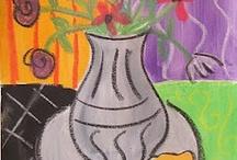 art lesson ideas  / by Beth Usadel