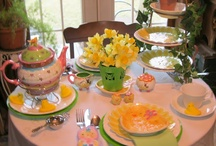 Tea Party Ideas / by Rebecca Pellicer