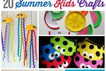 summer crafts / by Jennifer Beaves