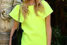 Neon / I just love neon for spring! / by Anne Buehner