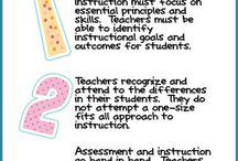 Differentiation in classroom / by Jan Brett