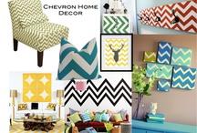 Chevron Decor / by Tonya N Jimmy Barker