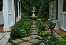 curb appeal  / by Maggie Philbin @ Mag's Rags to Riches