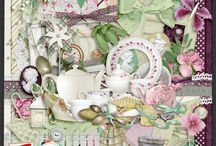My Digital Scrapbooking Kits / by Stephanne Moorehead