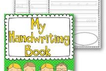 classroom - handwriting / by Sonya Vittiglio
