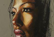 ART: Acrylic / by Greta Hansen-Money
