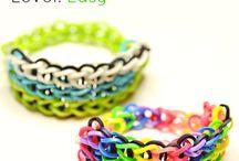 Rubber Band Bracelets / by Shug PetiteFairy