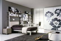 teen bedrooms / by Esther Piekaar