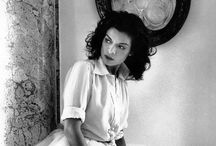 Style Icons / The ladies of Old Hollywood and other fabulous style icons. / by Melanie Brister