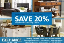 For the Home / by the Exchange - You save, we give back.