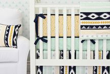Tribal Nursery / Tribal Inspired Nursery, Aztec Baby Bedding, Arrow Baby Bedding www.cadenlane.com / by Caden Lane