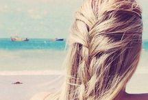 hair ideas / by Hannah Huff