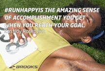 #RunHappyIs / Post-run buzz? A new PR? Share what Run Happy is for you and create a graphic to match it at http://is.runhappy.com. / by Brooks Running