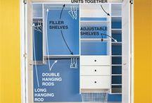 Storage/Organization: Closet / by Allison Lott