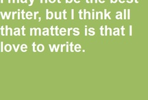 Writing and character inspiration / Writing and inspiration  / by Andrew Alec Smith